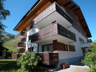 """Photo for Residence """"Le Caribou"""" located in the area of Contamines, near the Crêt Béni ski area. A few steps a"""