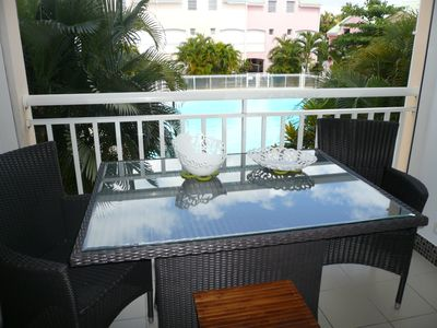 Photo for T3 Duplex pool near golf, shops and marina of St François