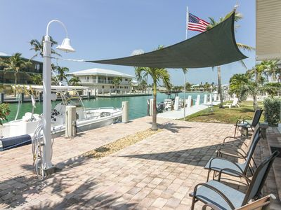 Photo for Waterfront home w/35-foot dock & access to private beach & shared pool