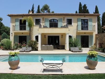 Photo for 5 Star Villa in Mougins - Perfect for Family Holidays - Short/Long Term Rentals