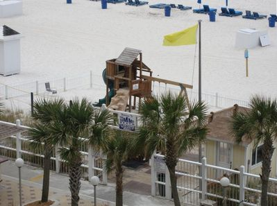 Summit's Private Playground on beach