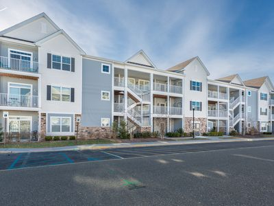 Photo for Quick Bike Ride to Dowtown Rehoboth Beach Amazing Community Amenities 3BR Condo w/ Elevator Sleeps 6