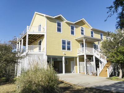 Photo for 4 Bedroom with Bonus Room with Ocean View and Marsh Views!