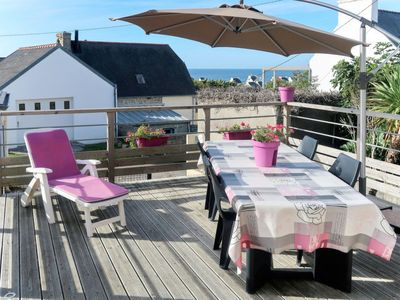 Photo for Vacation home Ferienhaus (PHF104) in Plouhinec - 8 persons, 4 bedrooms