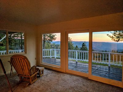 Photo for Breathtaking View with modern comfort near Kirkwood ski, wineries, gold country