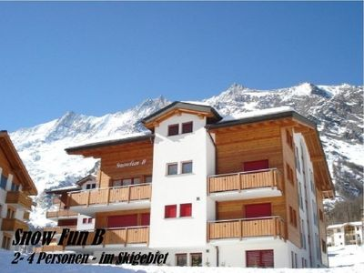 Photo for Apartment Snow-Fun B  in Saas - Fee, Valais - 4 persons, 1 bedroom
