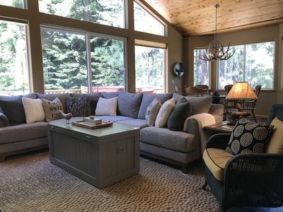 Photo for Large Family Home in Quiet Wooded Setting Close to Everything