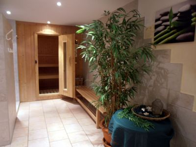 "Photo for Comfortable and exclusive apartment ""Clematis"" with indoor pool and sauna"