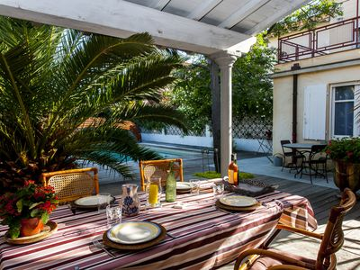 Photo for VILLA WITH PRIVATE SWIMMING POOL - CLOSE TO THE SEA - PRIVATE PARKING - GARDEN - POOL HOUSE
