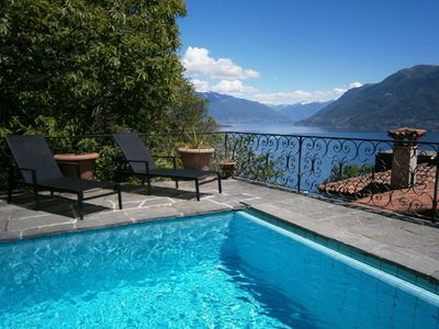 Photo for Spacious holiday home with fantastic panoramic views, private pool and garden