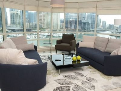 Photo for ★ Airy Apartment with the BEST View of Marina!