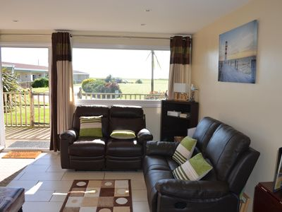 Photo for Lovely coastal holiday cottage in Bacton, dog friendly, wonderful beaches, wi-fi