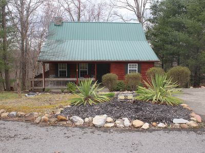 Photo for Quite Cabin in Lake Cumberland Resort Burnside, KY. Screened Porches & Hot Tub