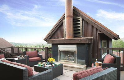 Photo for Inviting penthouse with outdoor fireplace, concierge and winter shuttle service -- walk to chairlift