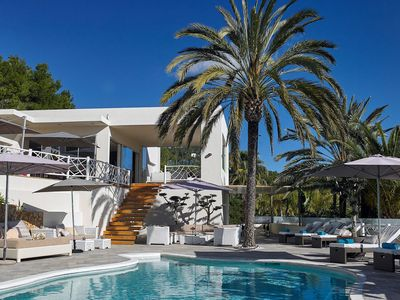 Photo for Luxury Villa Alvaro, in Ibiza, with private pool, 6 bedrooms, 11 sleeps