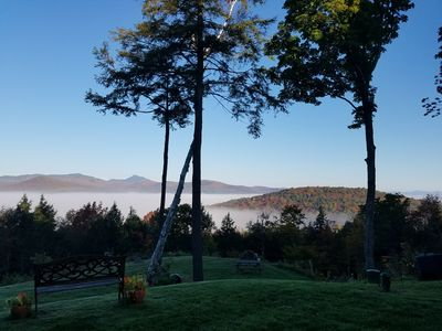 Photo for A peaceful & uplifting retreat with AMAZING views in the heart of the mountains.