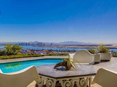 Photo for MID CENTURY MODERN SHOWPLACE--SPECTACULAR BAY VIEW POOL SPA