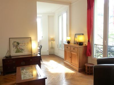 Photo for Le Alésia : Classic French Apartment in Historical Montparnasse Area