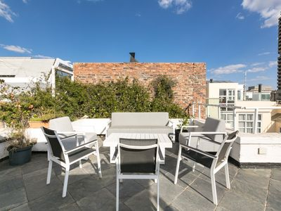 Photo for 3 Storey City Center Penthouse with Views, Roof Terrace and Rooftop Pool Access