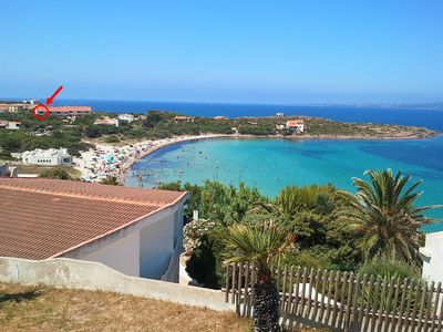 Photo for Sea front house in Sardinia!