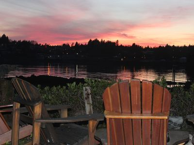 Photo for Carolyn's Cove B&B and Cabin - King Cove - King B&B Room #1 with Ocean View & Hot tub
