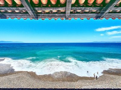 Photo for Oceanfront with Amazing Beach and Ocean Views 5 De Diciembre area in PV!