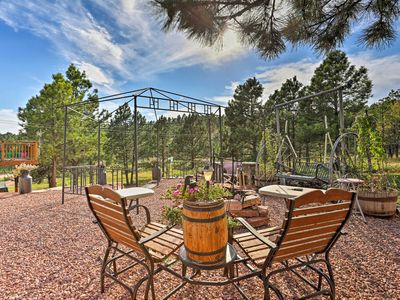 Photo for NEW! Hermosa Ground-Lvl Home on 5 Acres w/Fire Pit