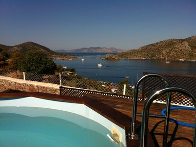 Photo for Private,house with pool, garden and sea view in Bozburun SW Turkey