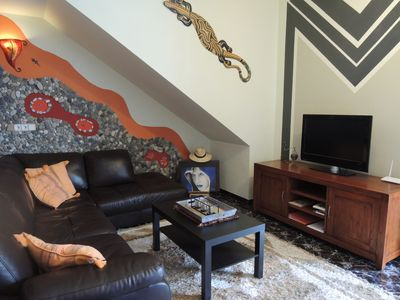 Photo for Comfortable apartment (Casa Buttiens-Lahou) free wifi and TV in your own language