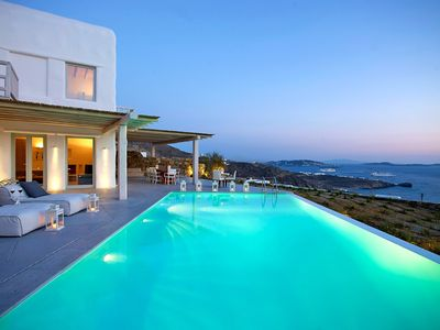 Photo for Amazing Villa Sable Mykonos, a newly built luxury villa, 5 Bedrooms, 5 Bathrooms, Private Pool, Up to 10 Guests !