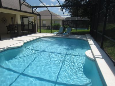 look at the size of the pool! it is all yours . It doesn't get better than this!