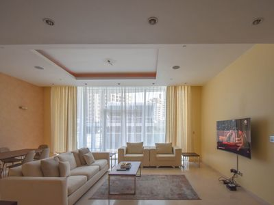 Photo for Luxury sea view 2 bedroom Palm Jumeira