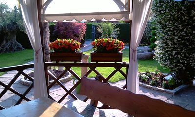 Photo for Terraced House Ground Floor Cola Di Lazise, ​​Pools,private garden