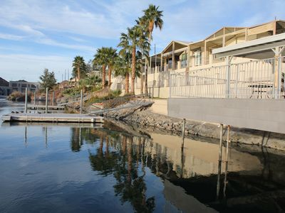 Photo for GORGEOUS NEW VILLA in Gated Community on the Parker Strip with Water Access