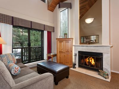 Photo for Whistler Two Bed Townhome steps to ski lifts and village! Best location!