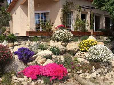 Photo for CHARMING VILLA IN PROVENCE BETWEEN THE SEA AND MOUNTAIN
