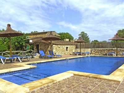 Photo for Finca Son Sole - STONE HOUSE - Big Pool - Country house for 9 people in Felanitx