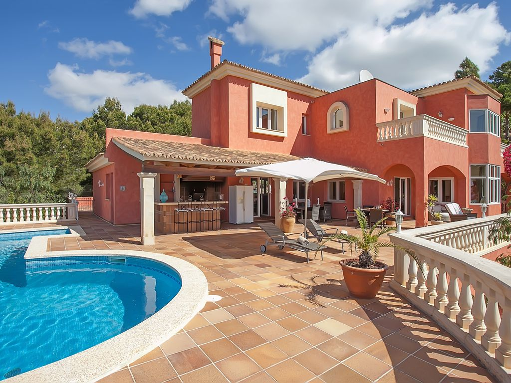 villa breathtaking views, heated pool, - homeaway calvià