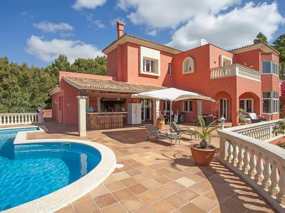 Photo for Villa Breathtaking Views, Heated Pool, Nr. Portals Nous, South West Mallorca
