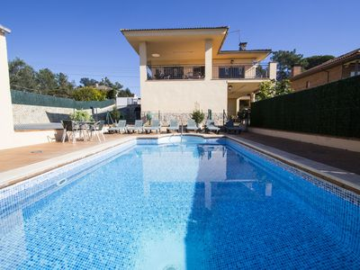 Photo for Villa del Art in Sils, in the center of Costa Brava and close to Spain's best golf!