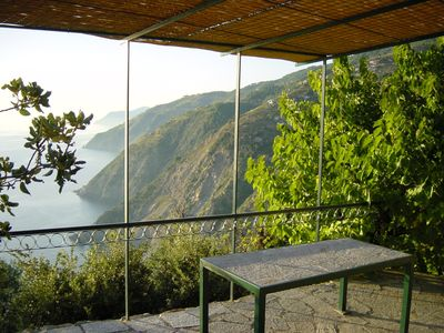 Photo for Stunning stone-house in unspoiled Cinque Terre with breath-taking sea views