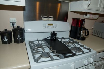 Gas Stove with Griddle