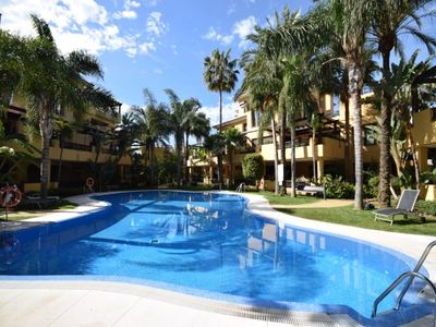 Photo for Playa Duque Marbella Apartment, Sleeps 4 with Air Con