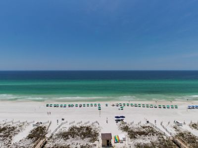 Photo for Beach views with access to shared hot tub and grill!