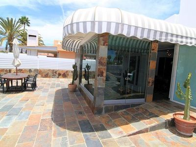 Photo for MASPALOMAS - PRIVATE HOUSE WITH SALT POOL - PRIVATE HOUSE WITH EQUIPPED BATHROOM