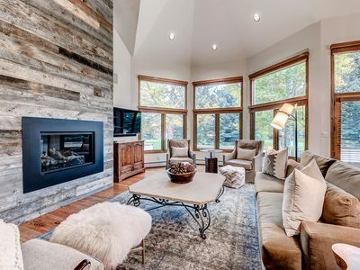 Photo for Spacious, Luxury Arrowhead Home with Spacious Deck and Winter Shuttle Service