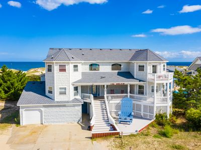 Photo for 18 Bedroom Oceanfront Home Pool, Hot Tub, Game/Media Room, Free WiFi 11000 sq ft