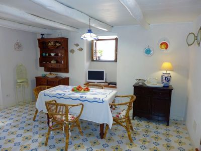 Photo for Apartment in the center of Nerano with Internet, Washing machine, Garden (687864)