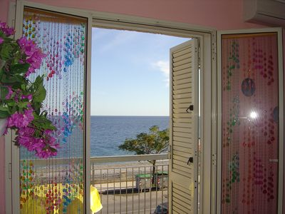 Photo for Seafront house with 2 bedrooms and 5 beds in Roccalumera Taormina