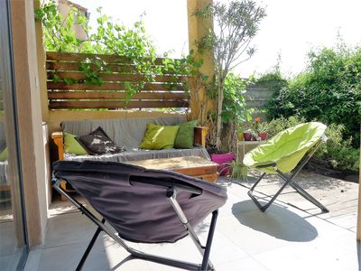 Photo for House garden Marseille 2 steps from swimming, 20 min walk from the old port